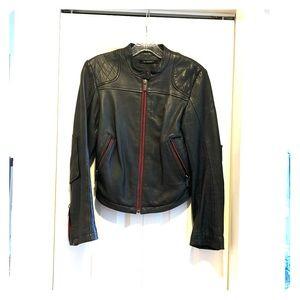 Beautiful William Rast leather jacket.